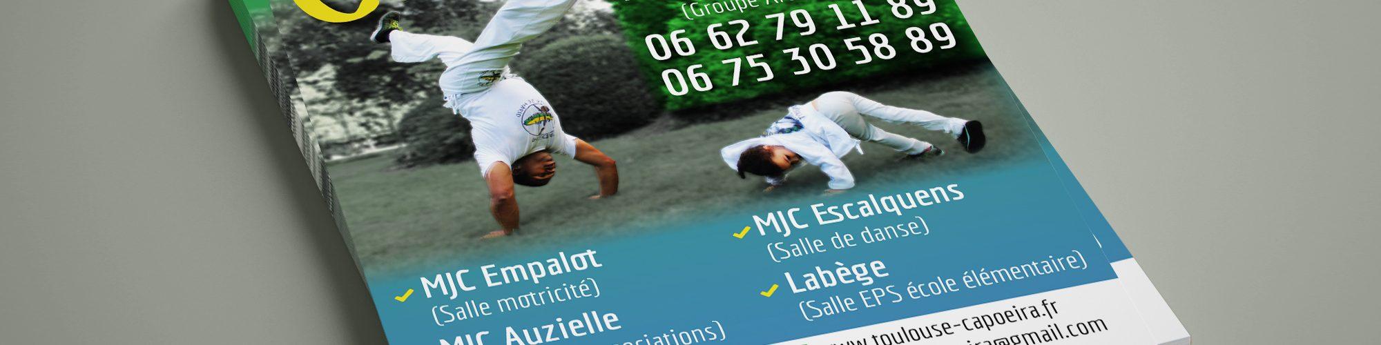 Flyer Arte Capoeira Toulouse 2017 - recto
