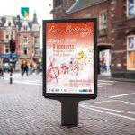 Affiche Les Musicales 2017 - Format Abribus (120x176cm)