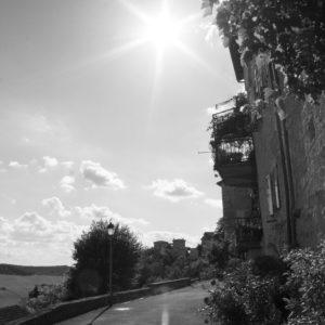Le Village – Castelnau de Montmiral (Tarn) 40x60cm