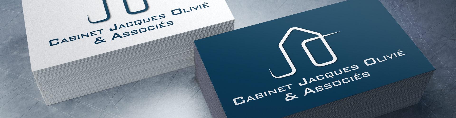 création d'un logo pour le Cabinet Jacques Olivié et Associés à Toulouse