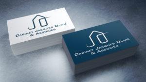 Cabinet Jacques Olivié et Associés / Création de logo