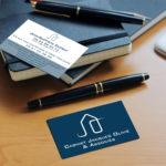 cartes de visite - Cabinet Jacques Olivié et Associés