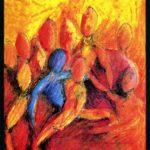 Le corps et les autres, travaux d'étude. Isabelle Fraysse 1995.