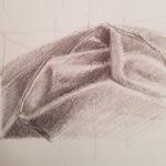 Dessin d'observation, crayon gris.