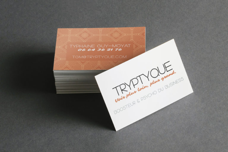tryptyque / Carte de visite